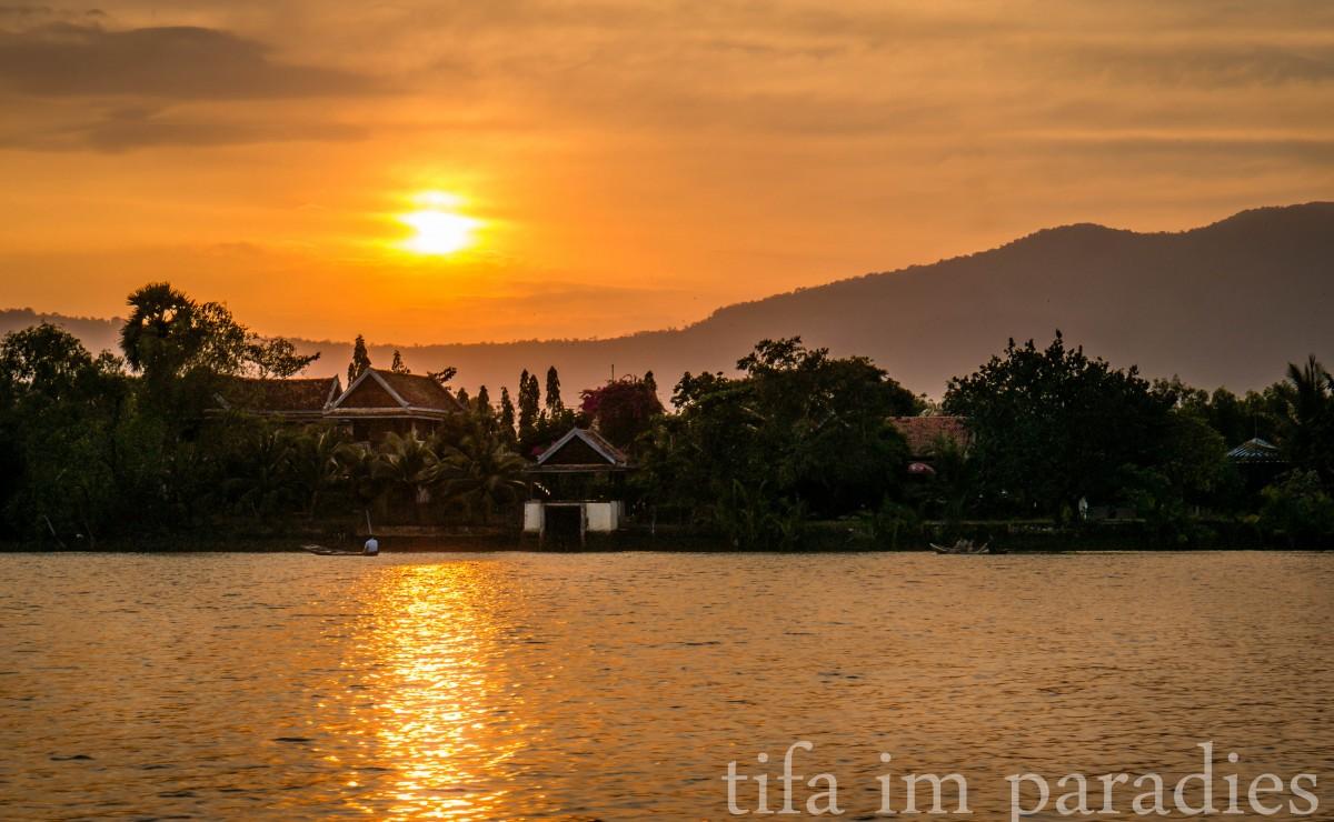 Sunset River Cruise, Kampot