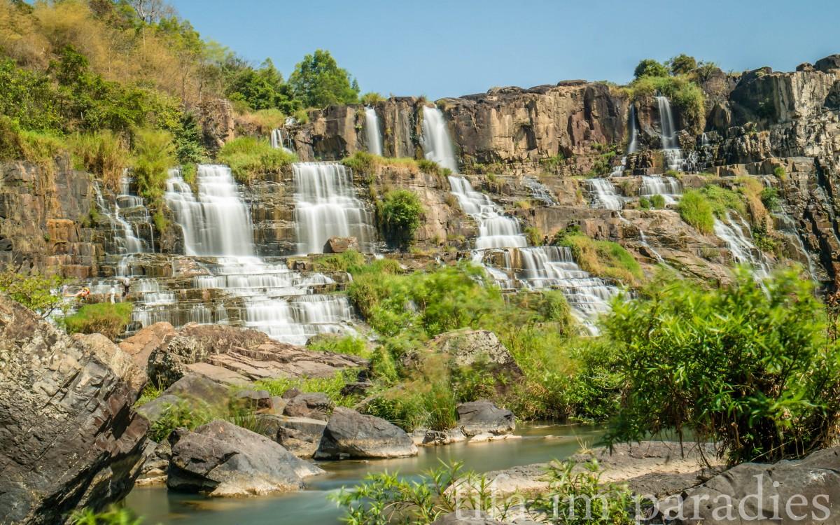 Pongour Falls, Dalat
