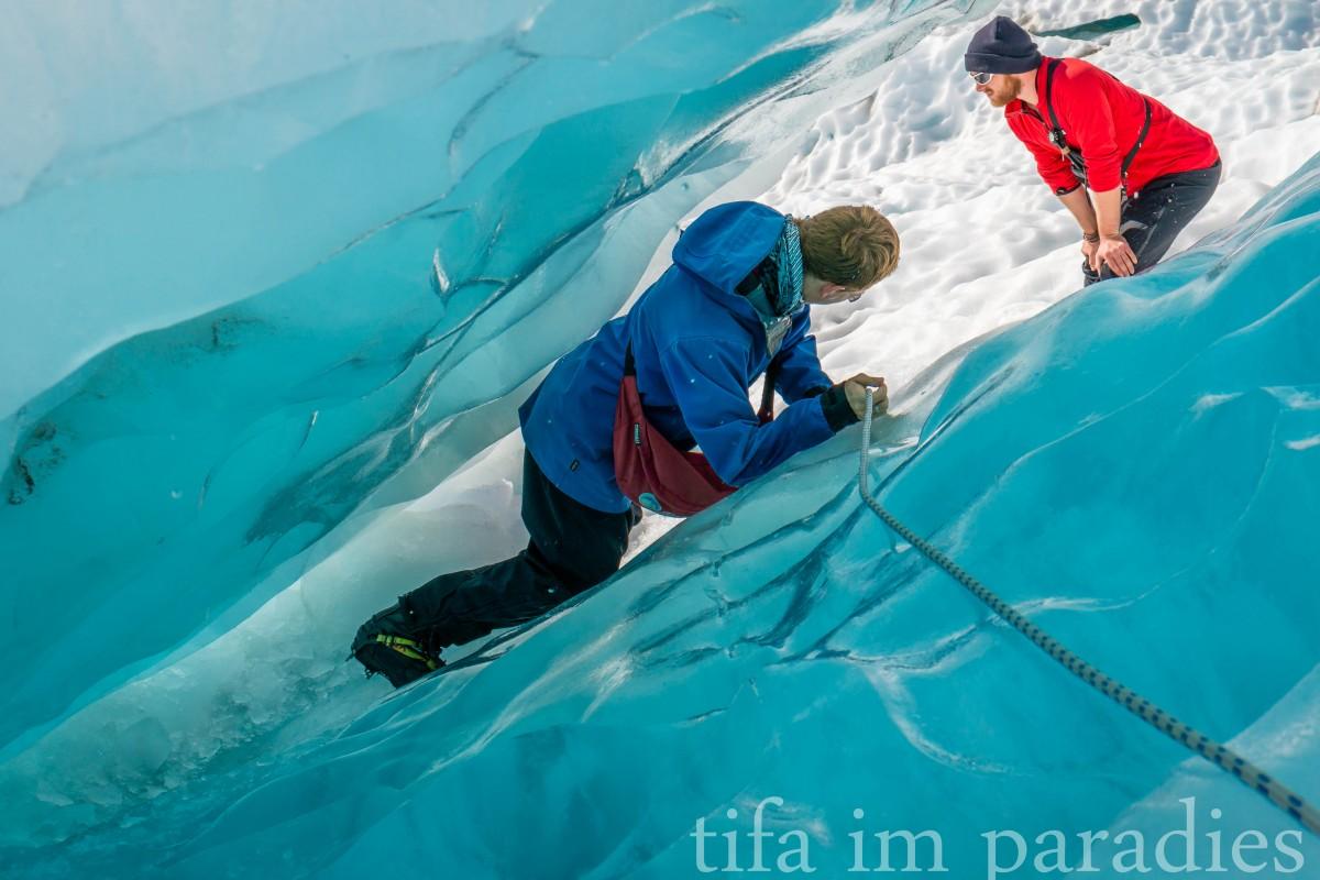 Ice Explorer Tour mit den Franz Josef Glacier Guides