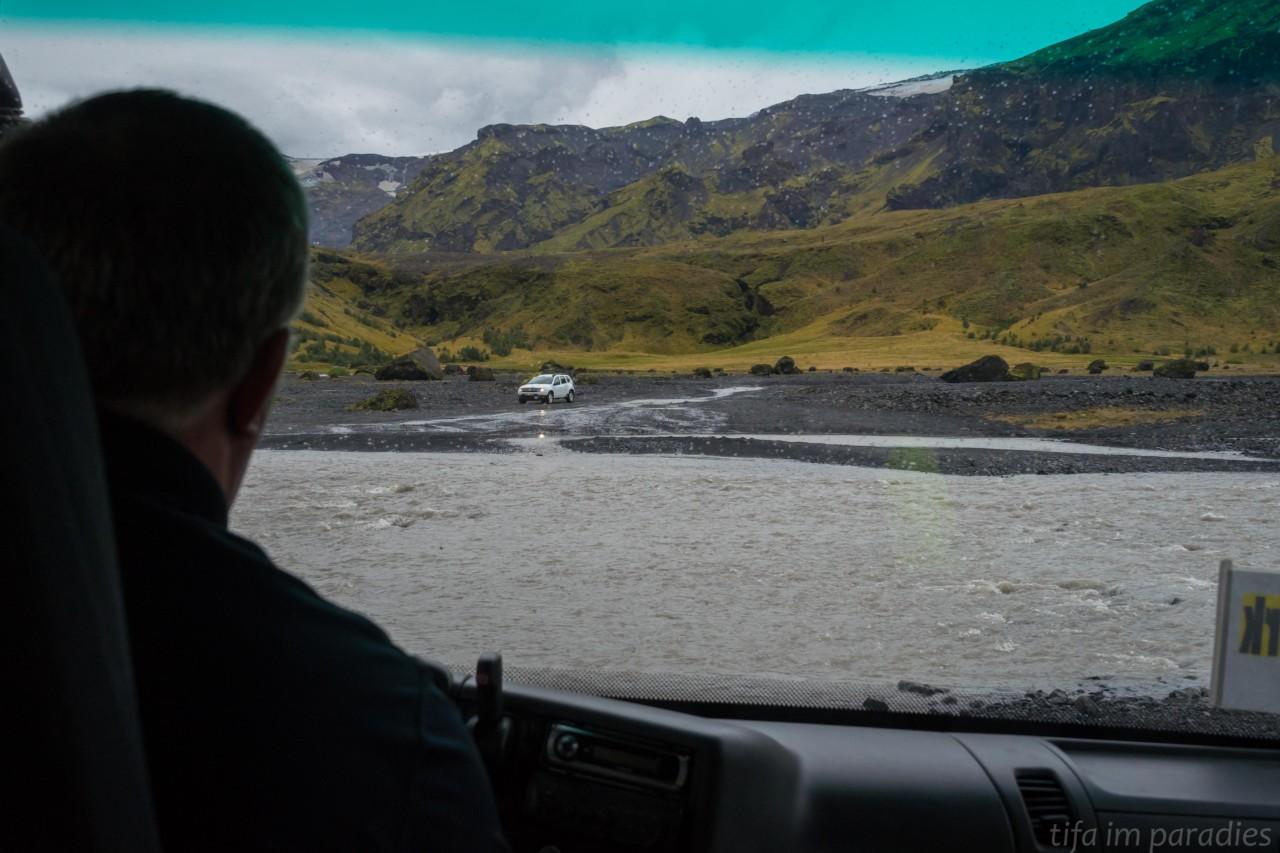 Auf dem Weg nach Þórsmörk