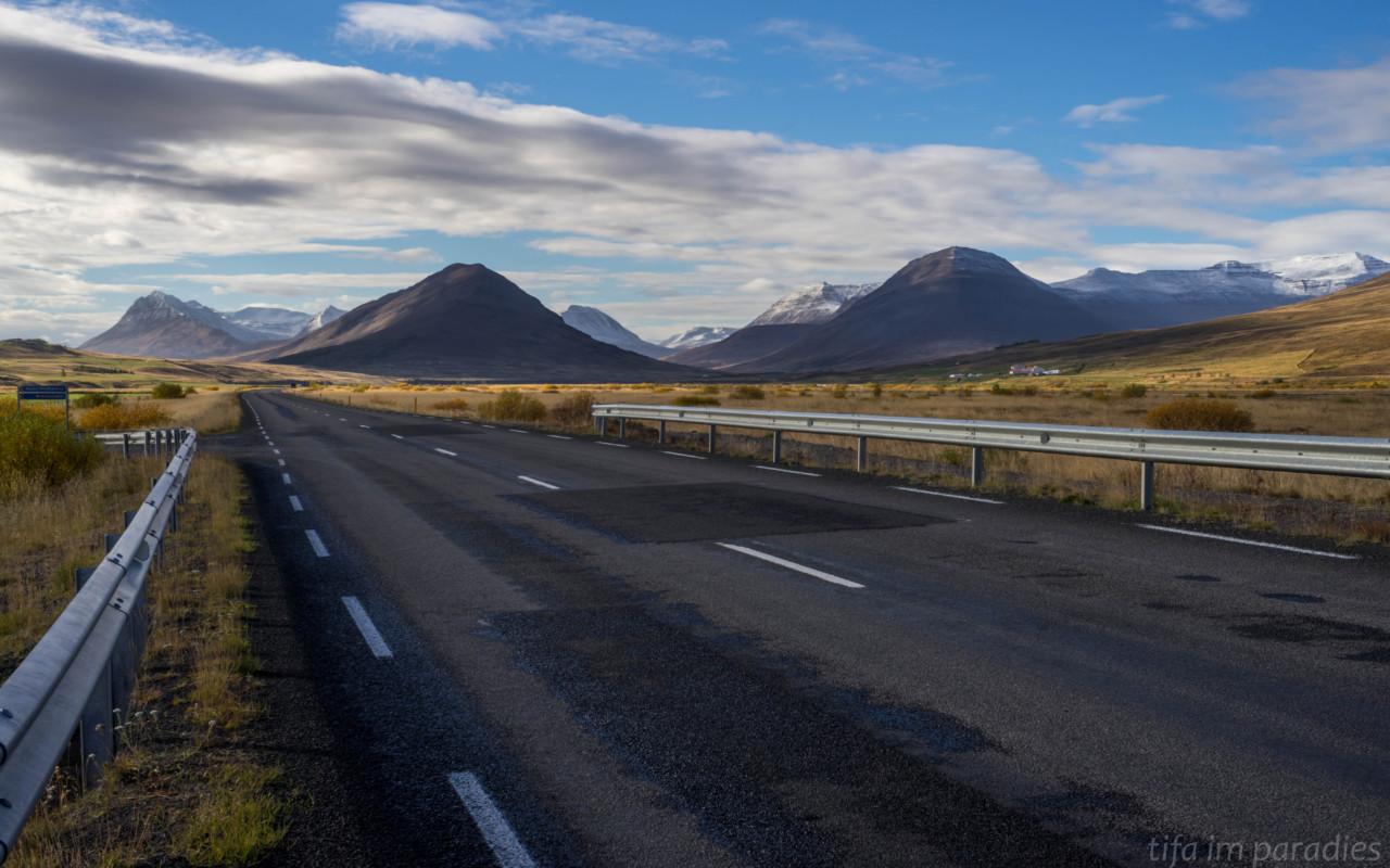 Ringstraße bei Akureyri
